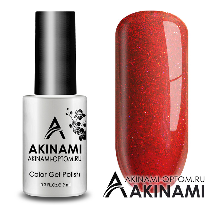 Гель-лак AKINAMI Color Gel Polish -  Tango 02