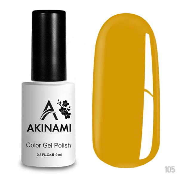 Гель-лак AKINAMI Color Gel Polish тон №105 Sun Pearl