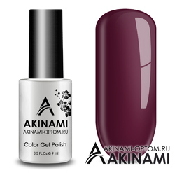 Гель-лак AKINAMI Color Gel Polish тон №146 Cherry Jam Lite