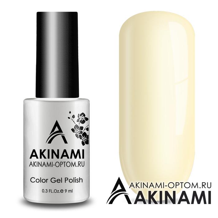 Гель-лак AKINAMI Color Gel Polish тон №149 Ivory
