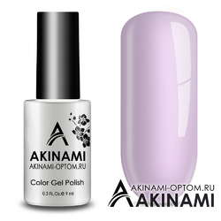 Гель-лак AKINAMI Color Gel Polish тон №153 Pale Violet