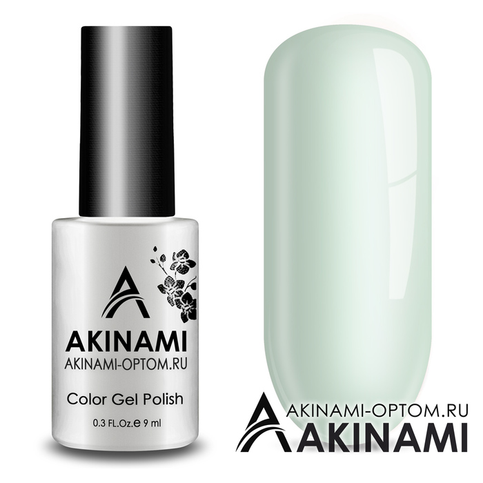 Гель-лак AKINAMI Color Gel Polish тон №154 White Green