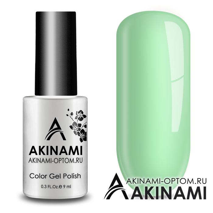 Гель-лак AKINAMI Color Gel Polish тон №155 Light Mint