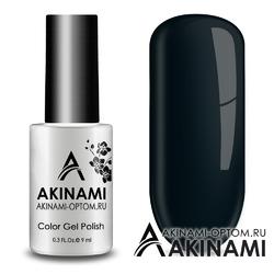 Гель-лак AKINAMI Color Gel Polish тон №159 Noir