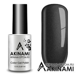 Гель-лак AKINAMI Color Gel Polish тон №161 Black Metal