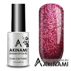 Гель-лак AKINAMI Color Gel Polish -  Fireworks 04