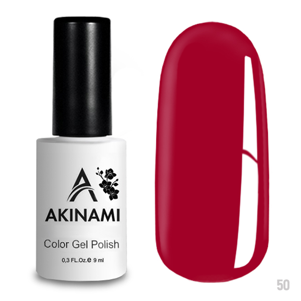 Гель-лак AKINAMI Color Gel Polish тон  №50 Strawberry