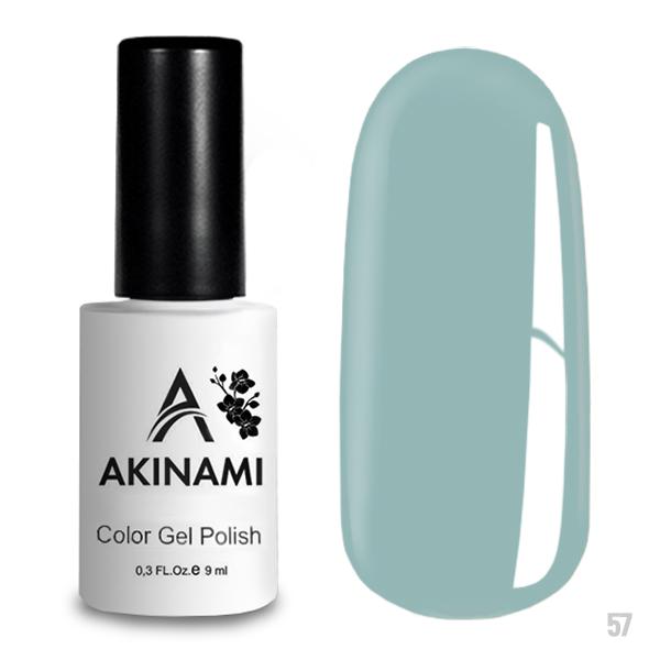 Гель-лак AKINAMI Color Gel Polish тон  №57 Pale Blue