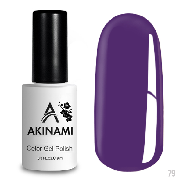 Гель-лак AKINAMI Color Gel Polish тон  №79 Amethyst Orchid