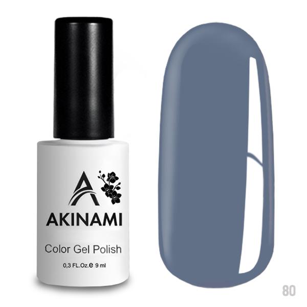 Гель-лак AKINAMI Color Gel Polish тон  №80 Dusty Blue