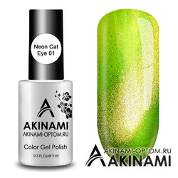 Гель-лак AKINAMI Color Gel Polish - Neon Cat 01