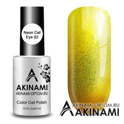 Гель-лак AKINAMI Color Gel Polish - Neon Cat 02
