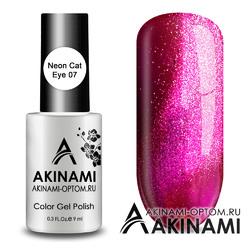 Гель-лак AKINAMI Color Gel Polish - Neon Cat 07