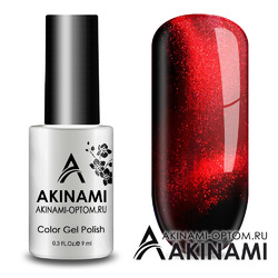 Гель-лак AKINAMI Color Gel Polish - Cat Eye Red 03