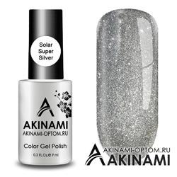 Гель-лак AKINAMI Color Gel Polish -  Solar Super Silver