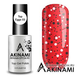 Akinami ТОП Eggs 03 Черно-Белый