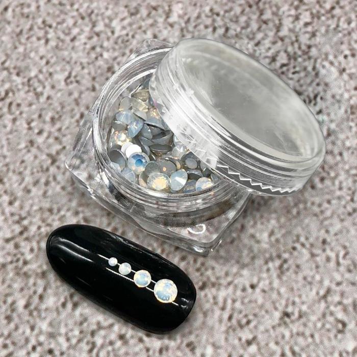 СТРАЗЫ  White Opal   T027